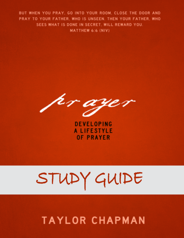 Prayer Study Guide